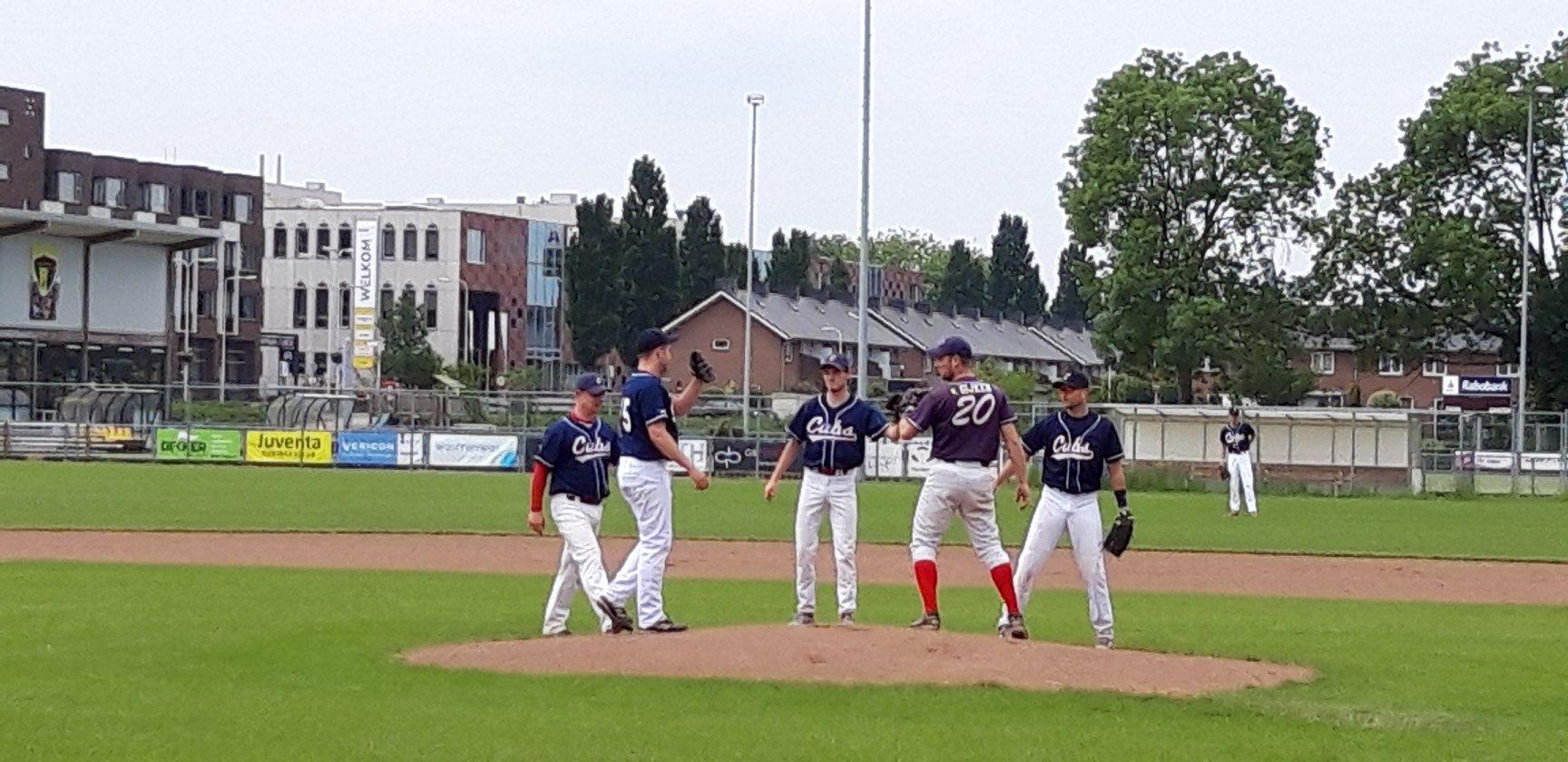 honkbal hardenberg cubs uitwedstrijd blue hawks zwolle