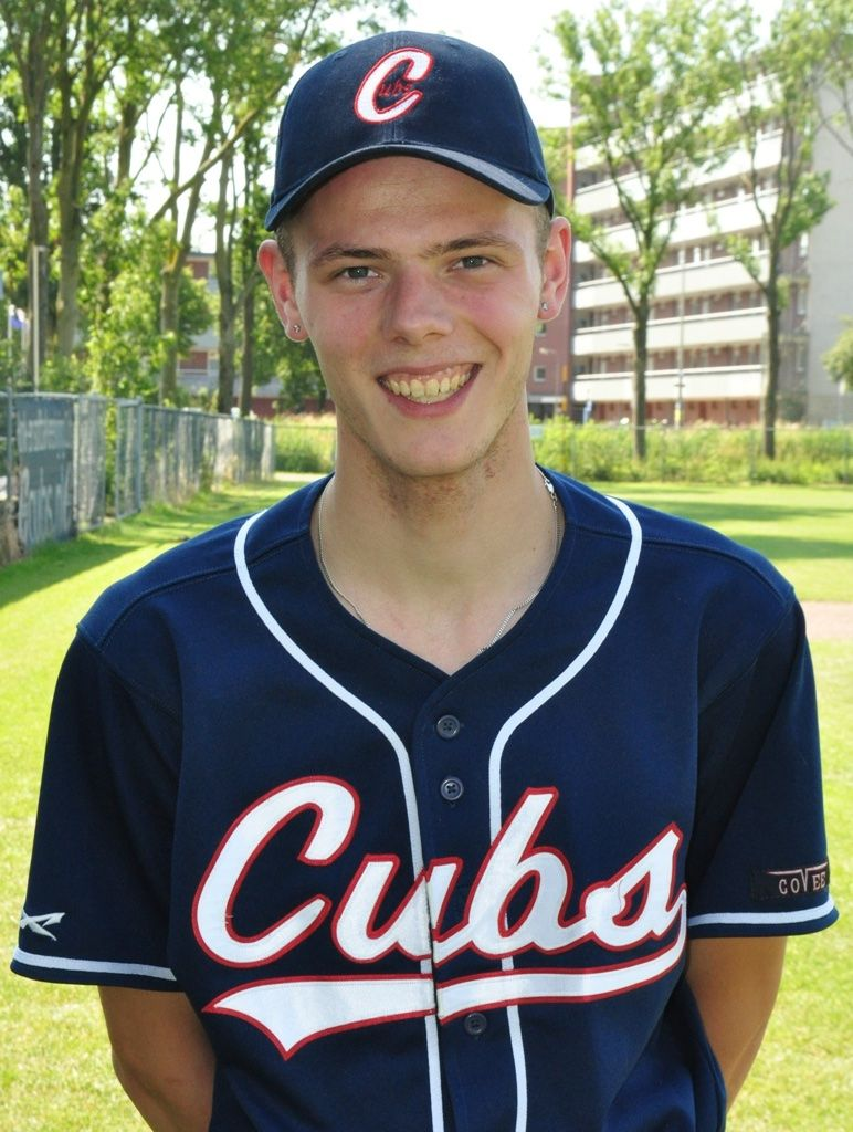 Mike Koert Cubs heren honkbalteam hardenberg
